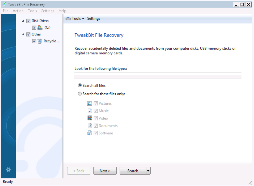 TweakBit File Recovery 7.2 crack download